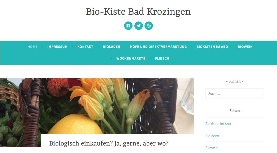Biologisch und regional einkaufen in Bad Krozingen